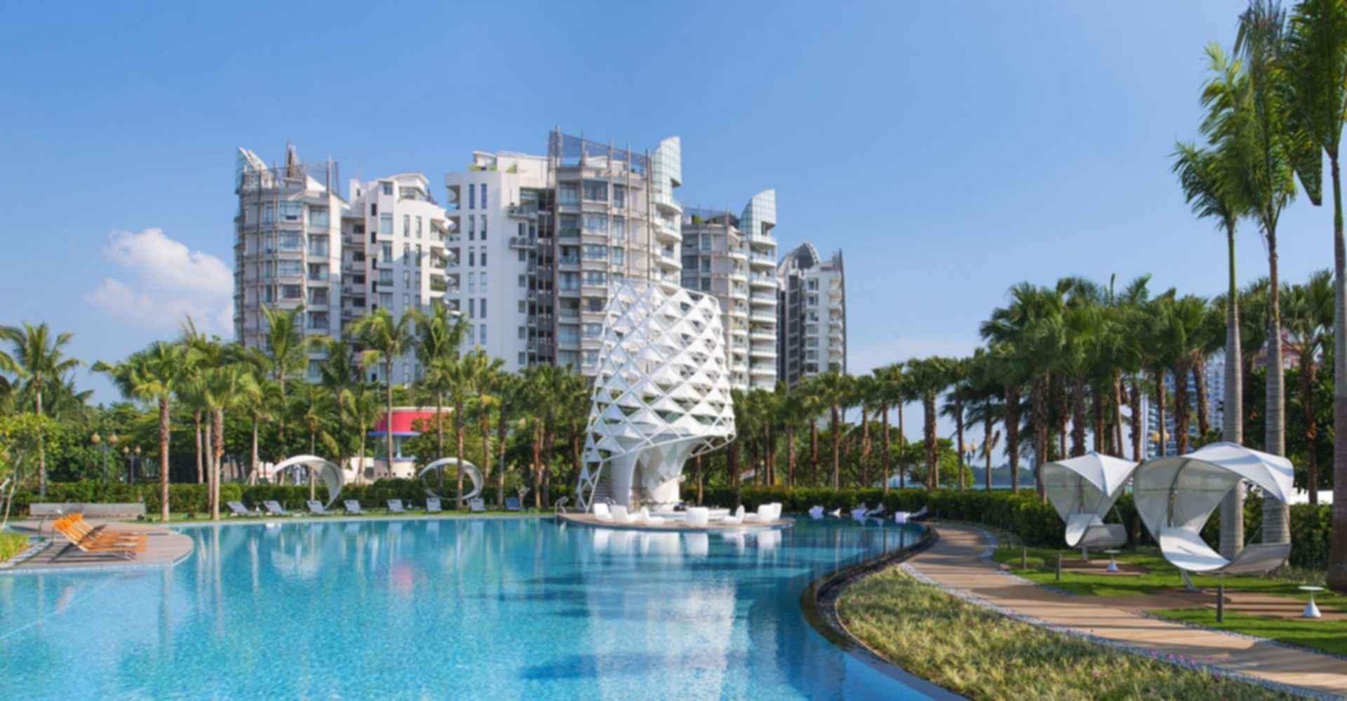 W Singapore Sentosa Cove - Pool
