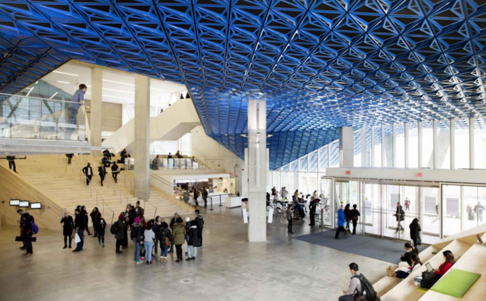 Ryerson University Student Learning Centre - Interior