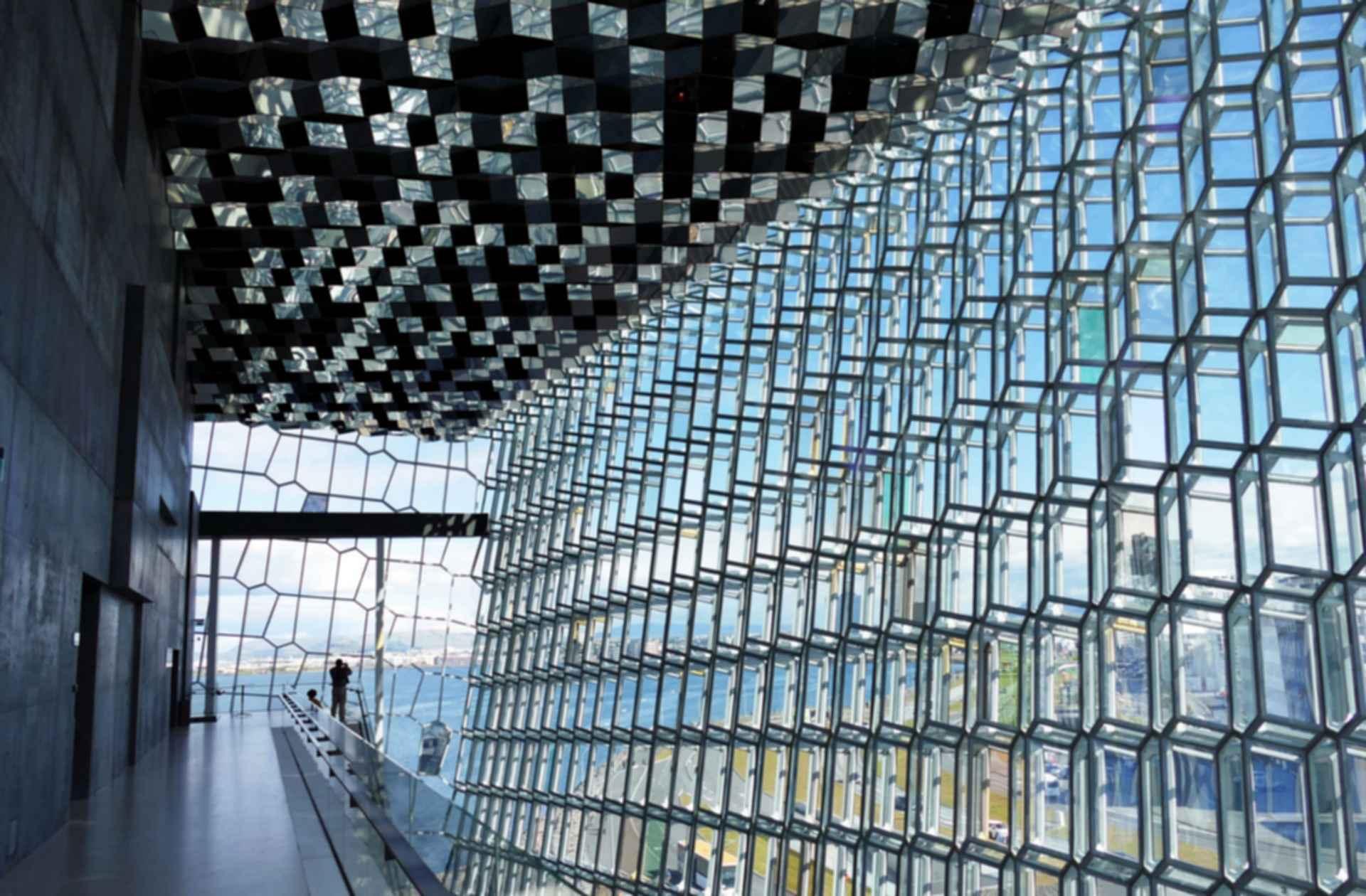 Harpa Concert Hall - Windows