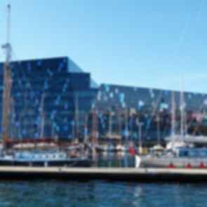 Harpa Concert Hall - View from Harbor