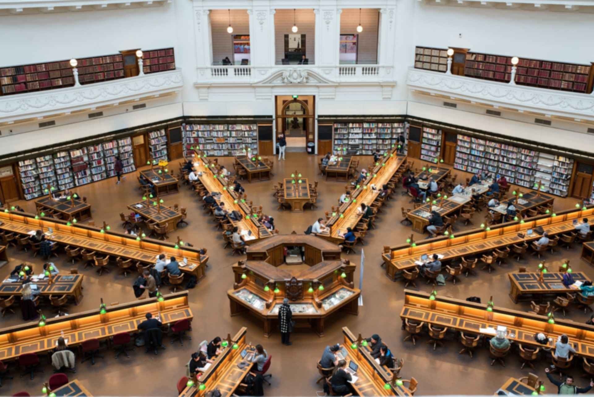 State Library of Victoria - La Trobe Reading Room