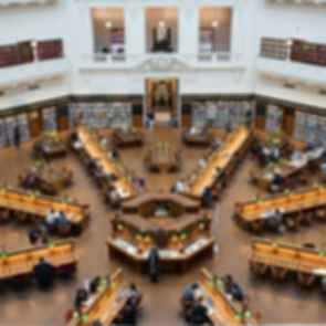 State Library of Victoria - La Trobe Reading Room