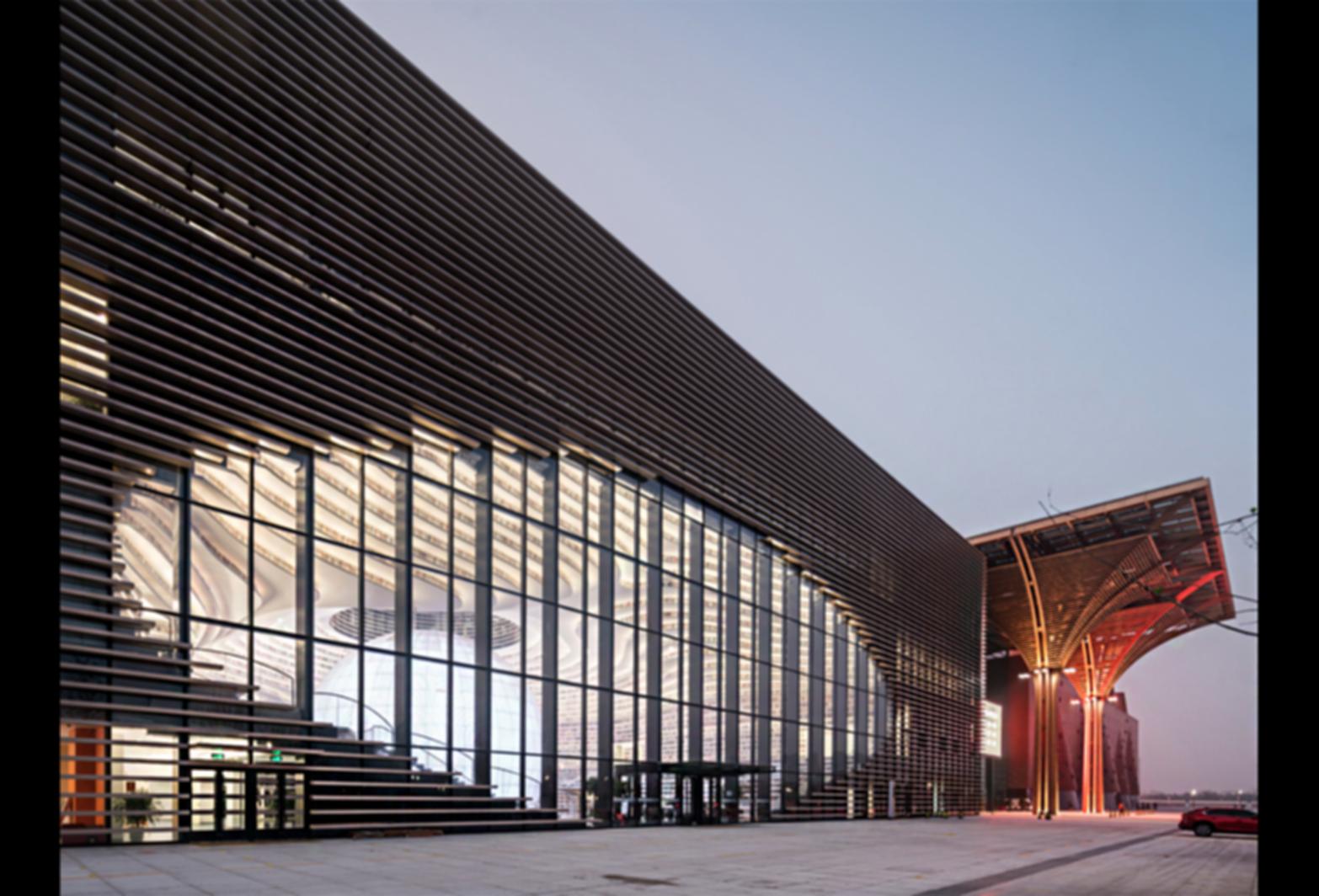 Tianjin Binhai Library - Exterior