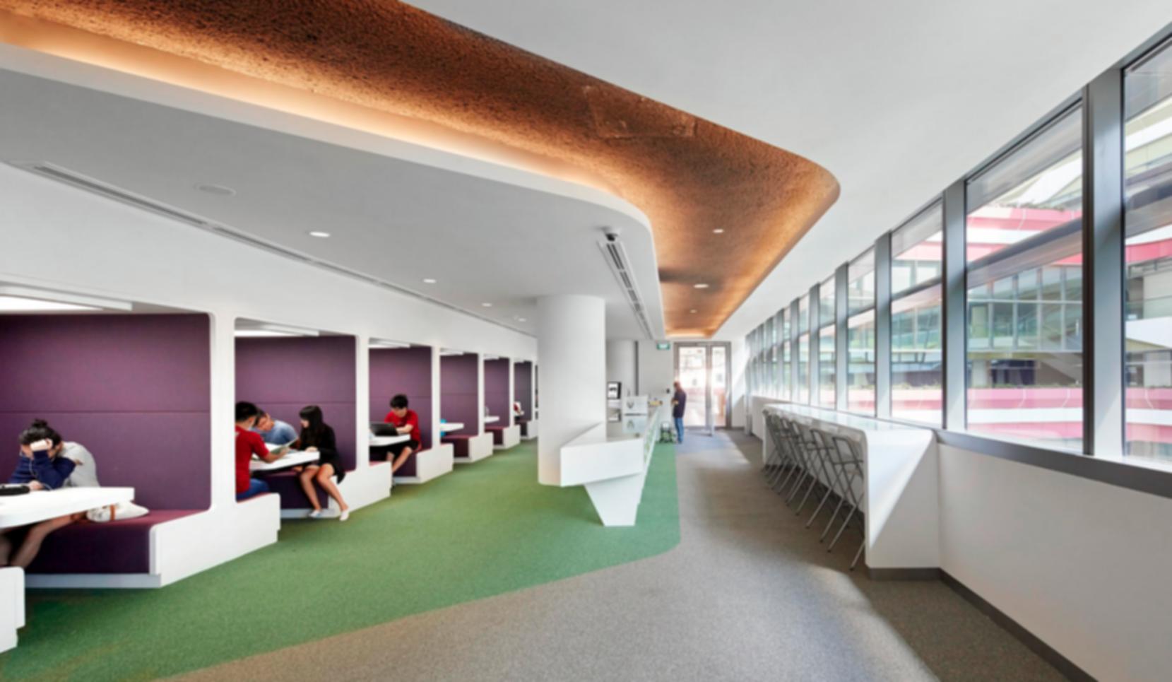 Singapore university of technology and design interior for Interior design colleges and universities