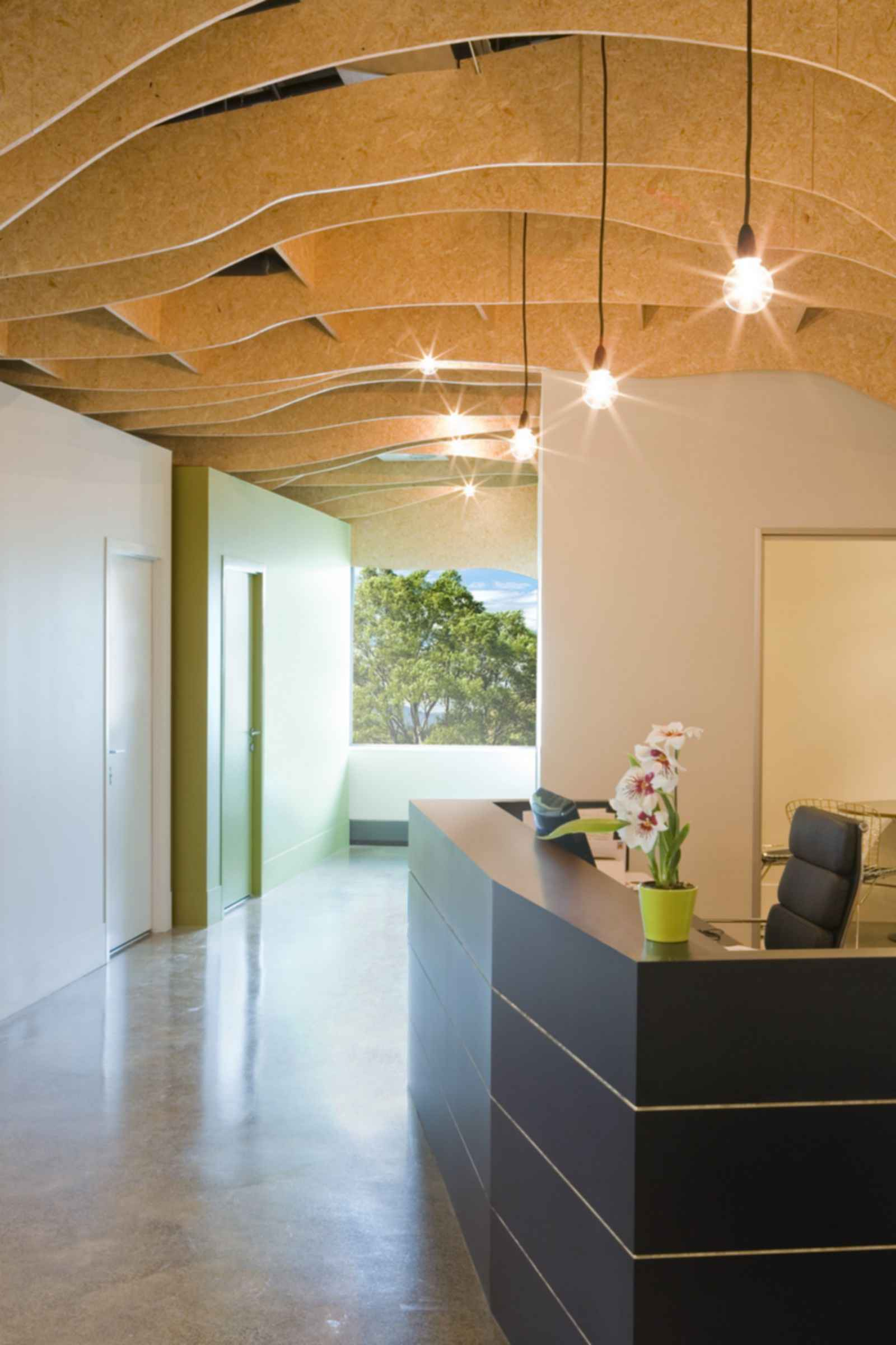 Clinic Interior - Reception