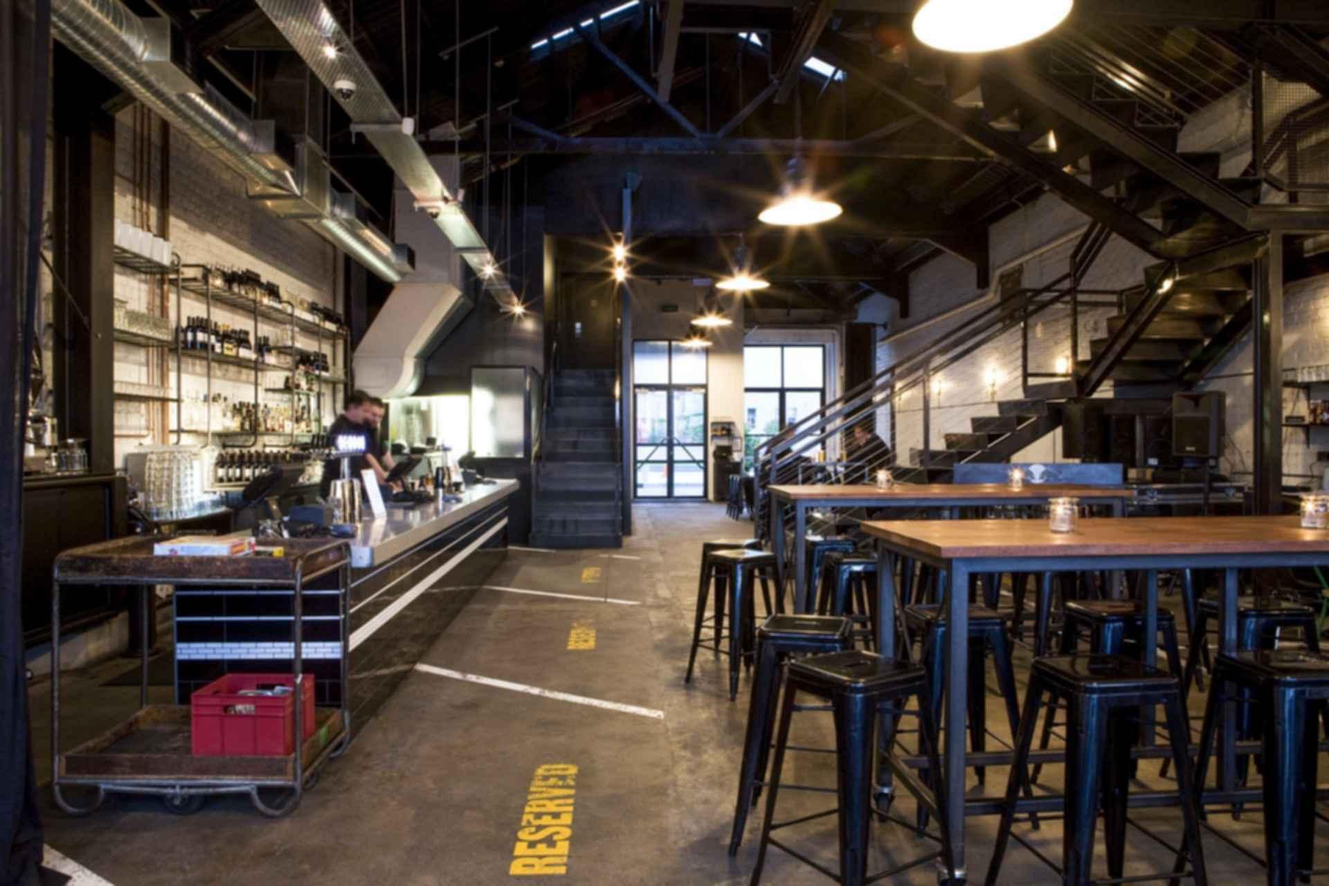 Tyler Street Garage - Interior