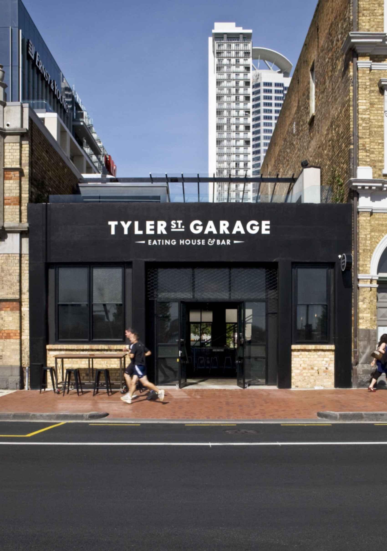 Tyler Street Garage - Exterior