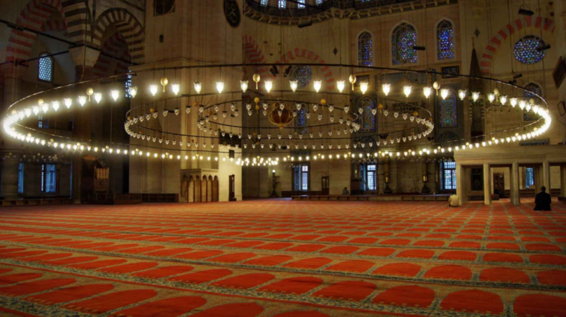 Sultan Ahmed Mosque - Pendant Lamps