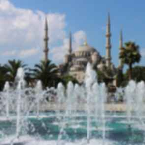 Sultan Ahmed Mosque - Fountain