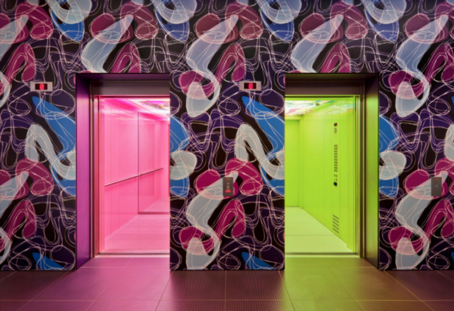 nhow Berlin - Elevator