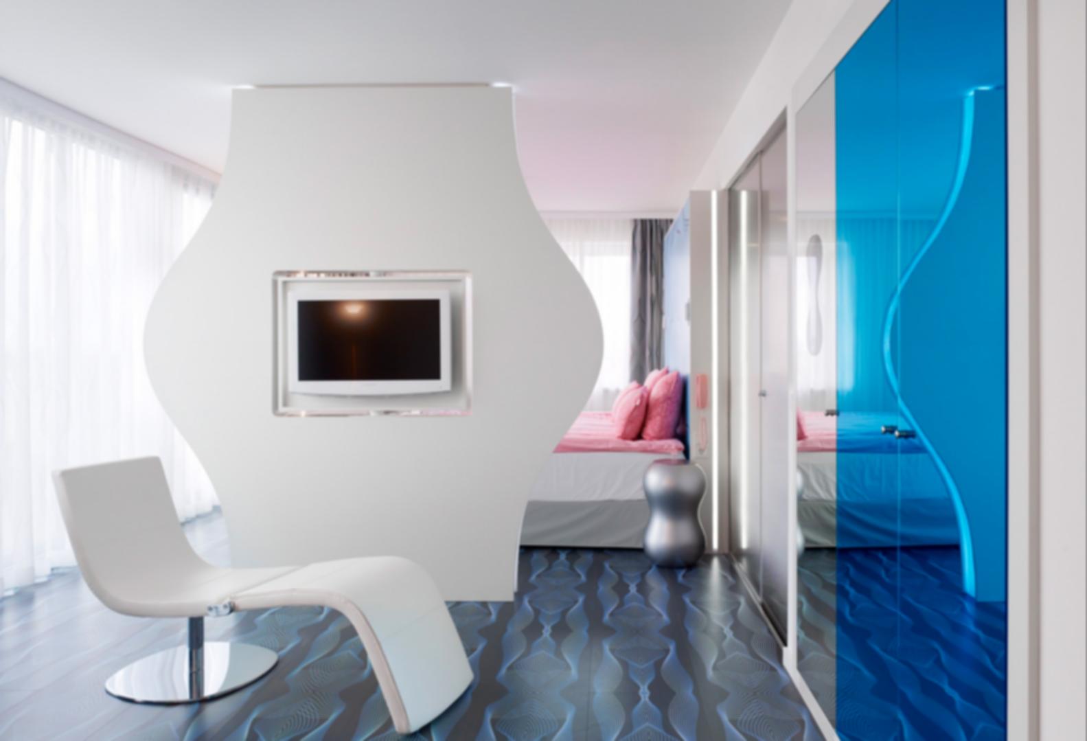 nhow Berlin - Bedroom