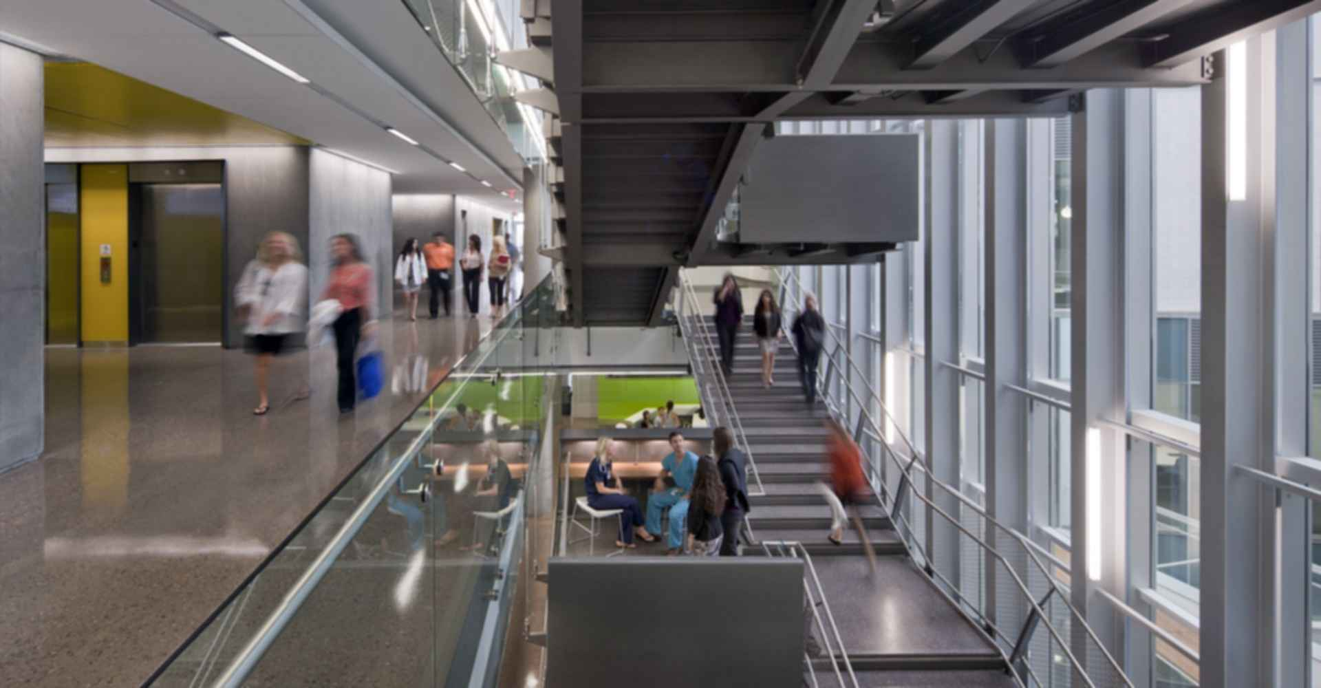Phoenix Biomedical Campus Health Sciences Education Building - Interior