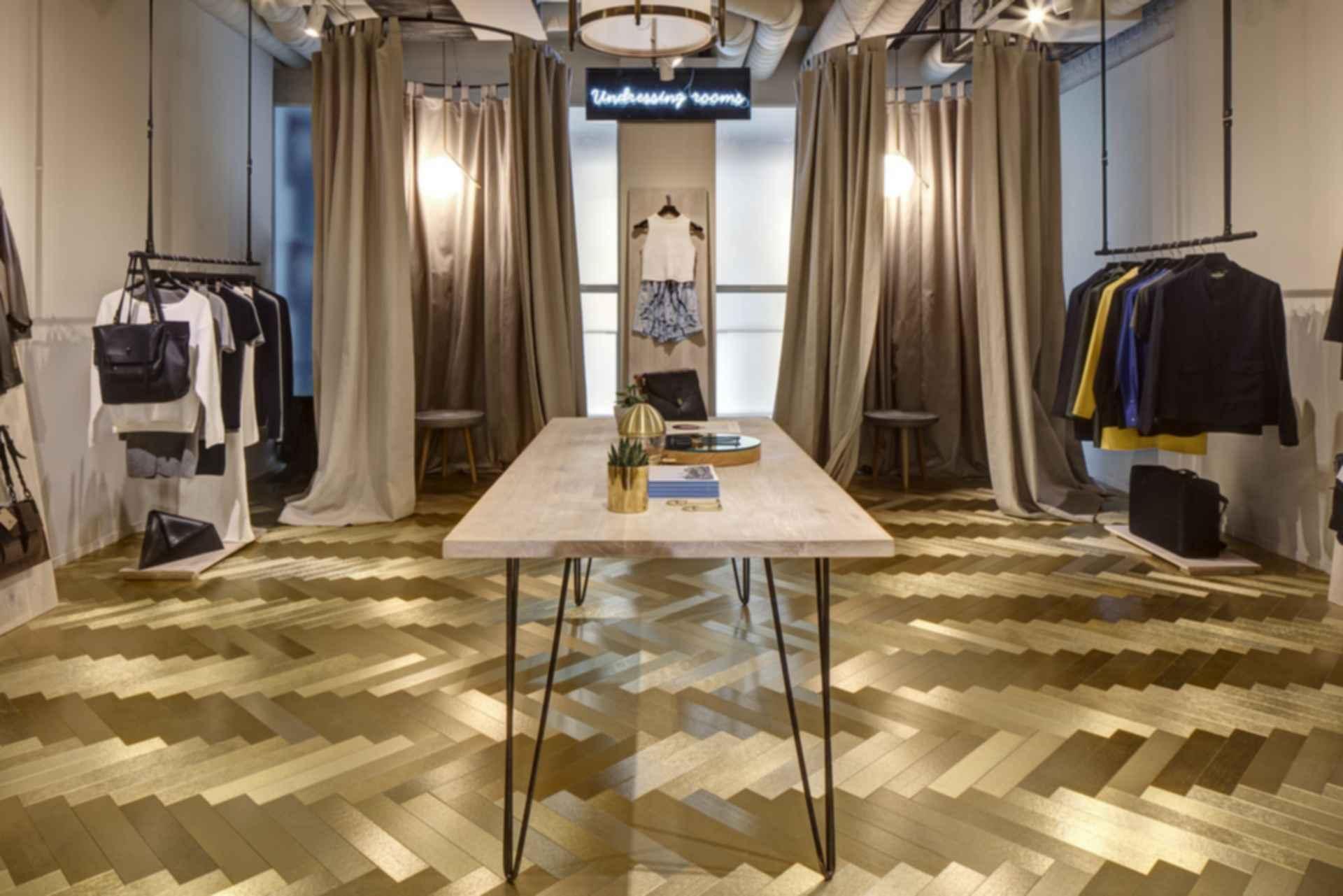 Clerkenwell London - Dressing Rooms