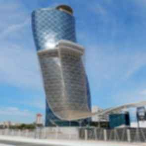 Capital Gate ADNEC - Exterior