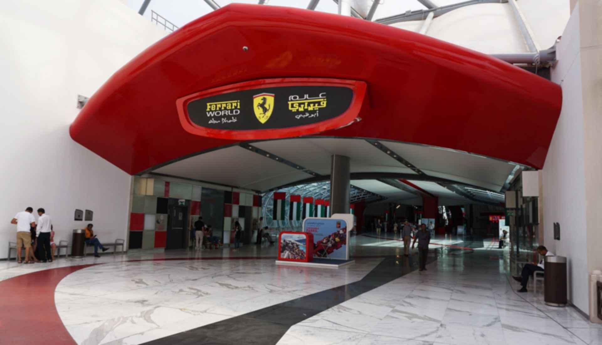 Ferrari World Abu Dhabi - Entrance