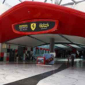 Ferrari World Abu Dhabi - Entrance