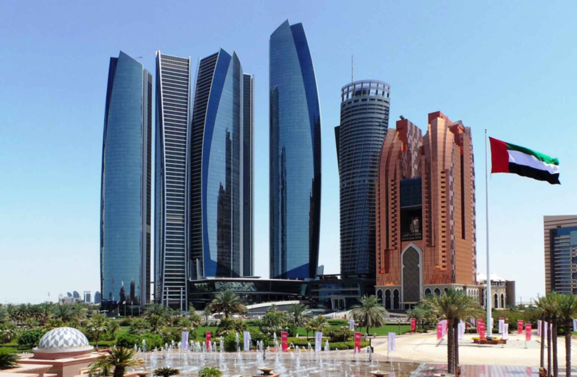 Etihad Towers - Skyline