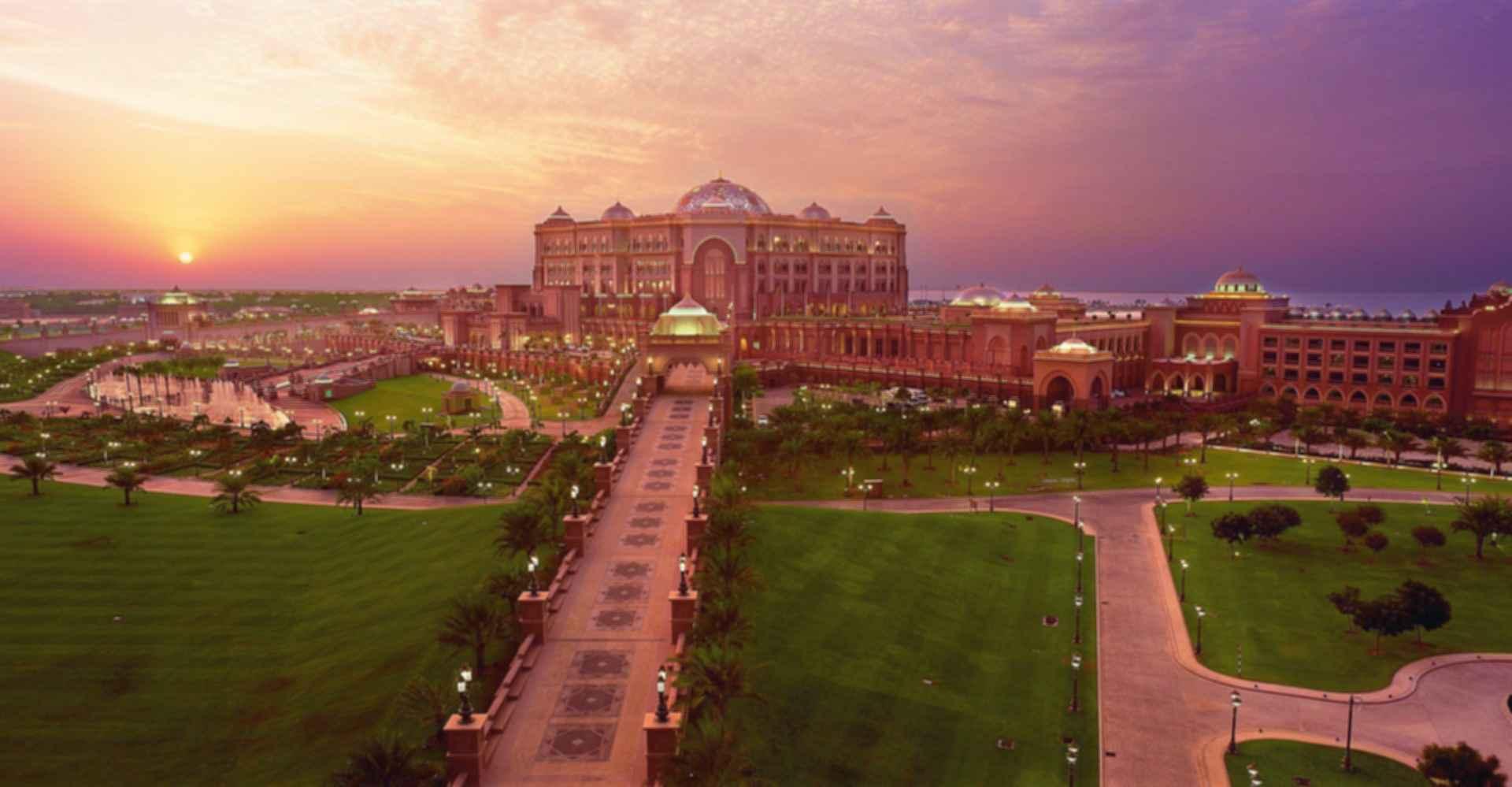 Emirates Palace - Bird's Eye View