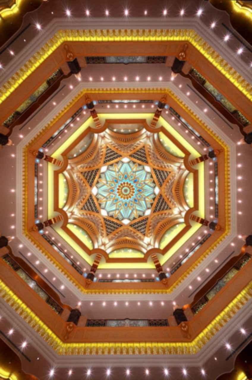 Emirates Palace - Ceiling