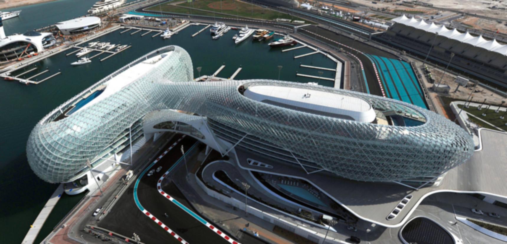 Yas Viceroy Abu Dhabi - Bird's Eye View