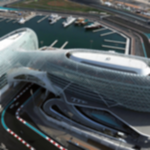 Yas Viceroy Abu Dhabi - Bird's Eye View
