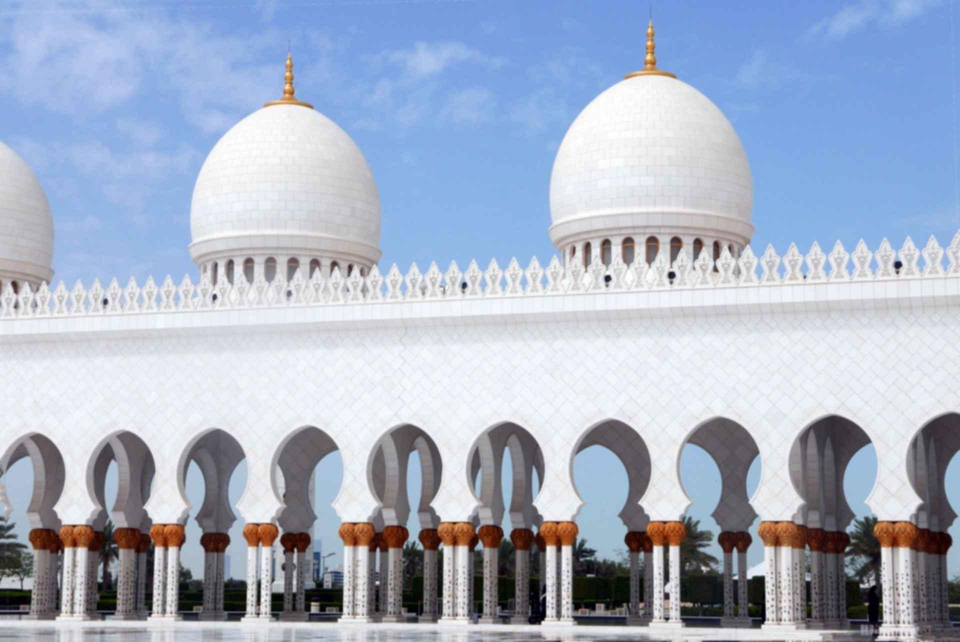 Sheikh Zayed Grand Mosque - Exterior