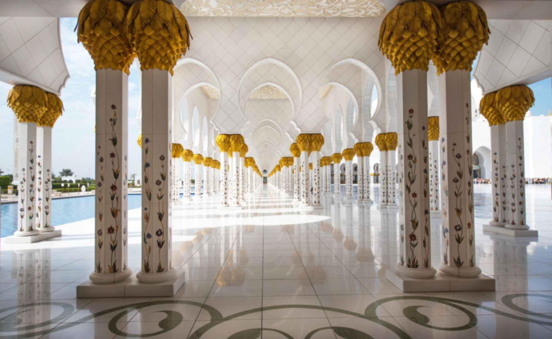Sheikh Zayed Grand Mosque - Columns