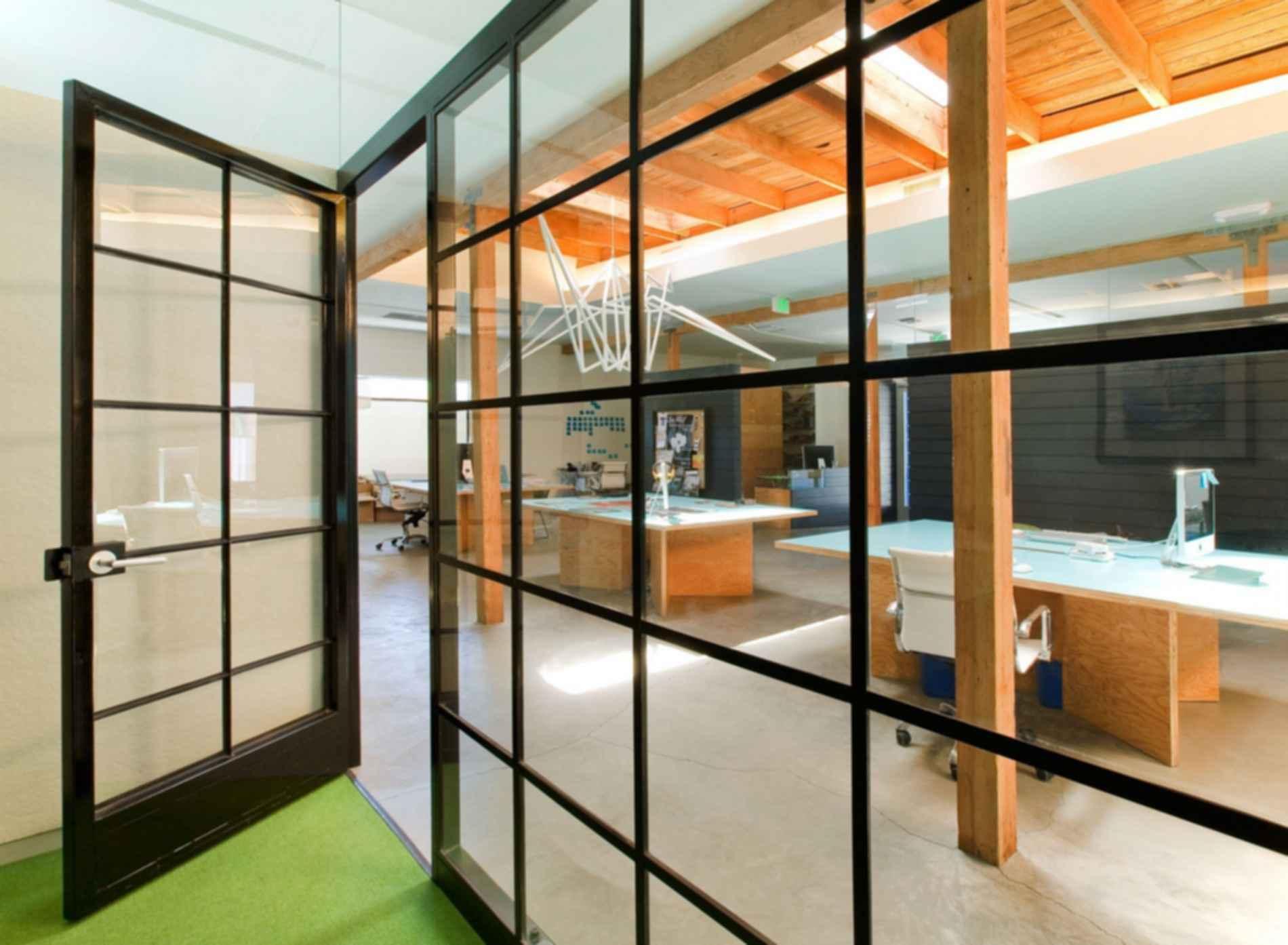 Dangerbird Records Headquarters - Glass Wall
