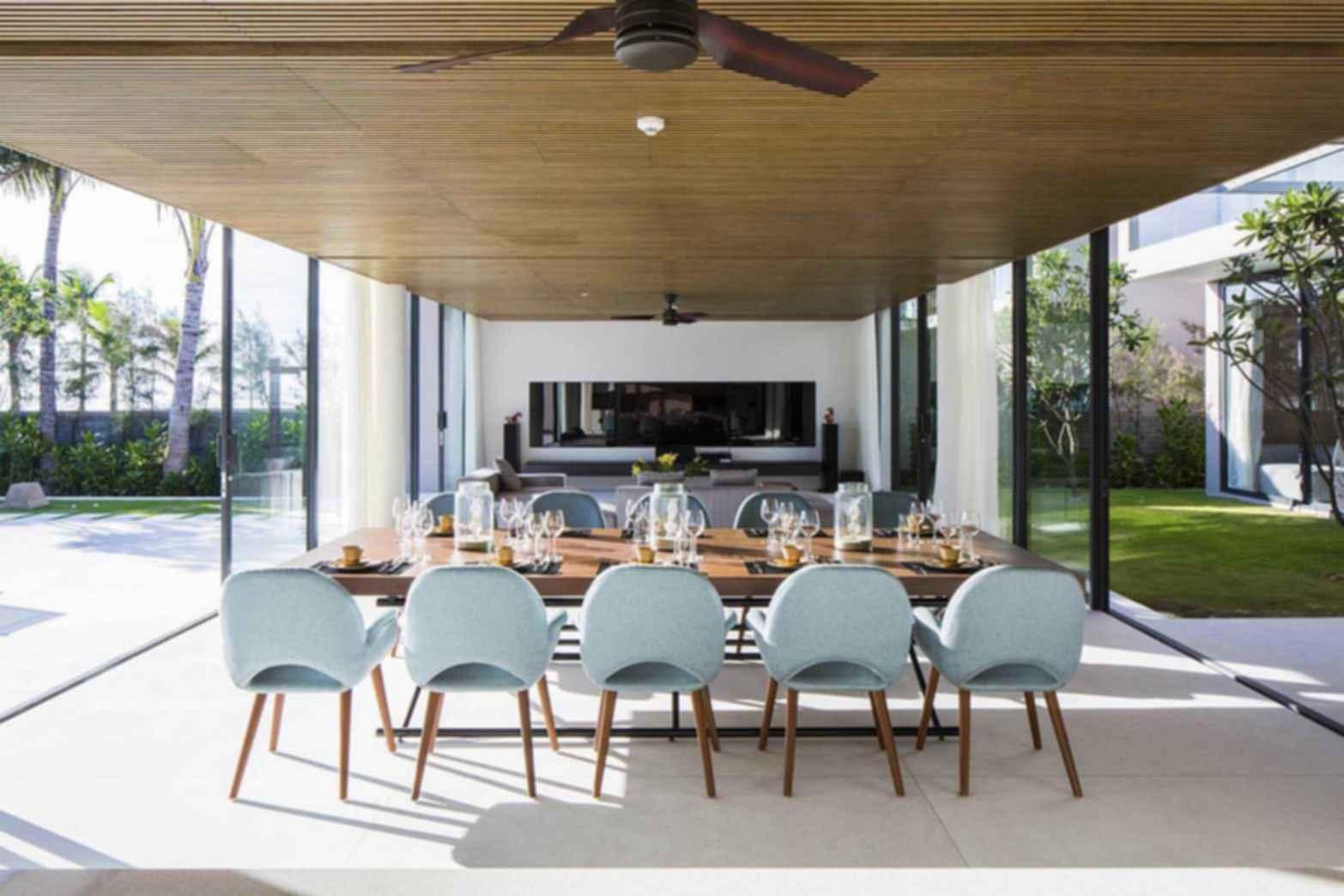 Naman Residences - Living Room