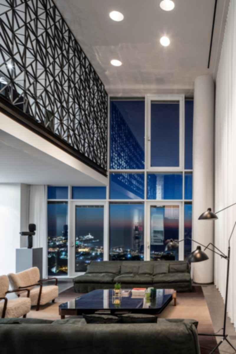 P Duplex - Living Room