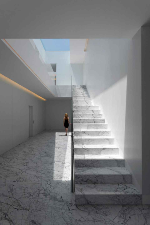 Aluminum House - Interior
