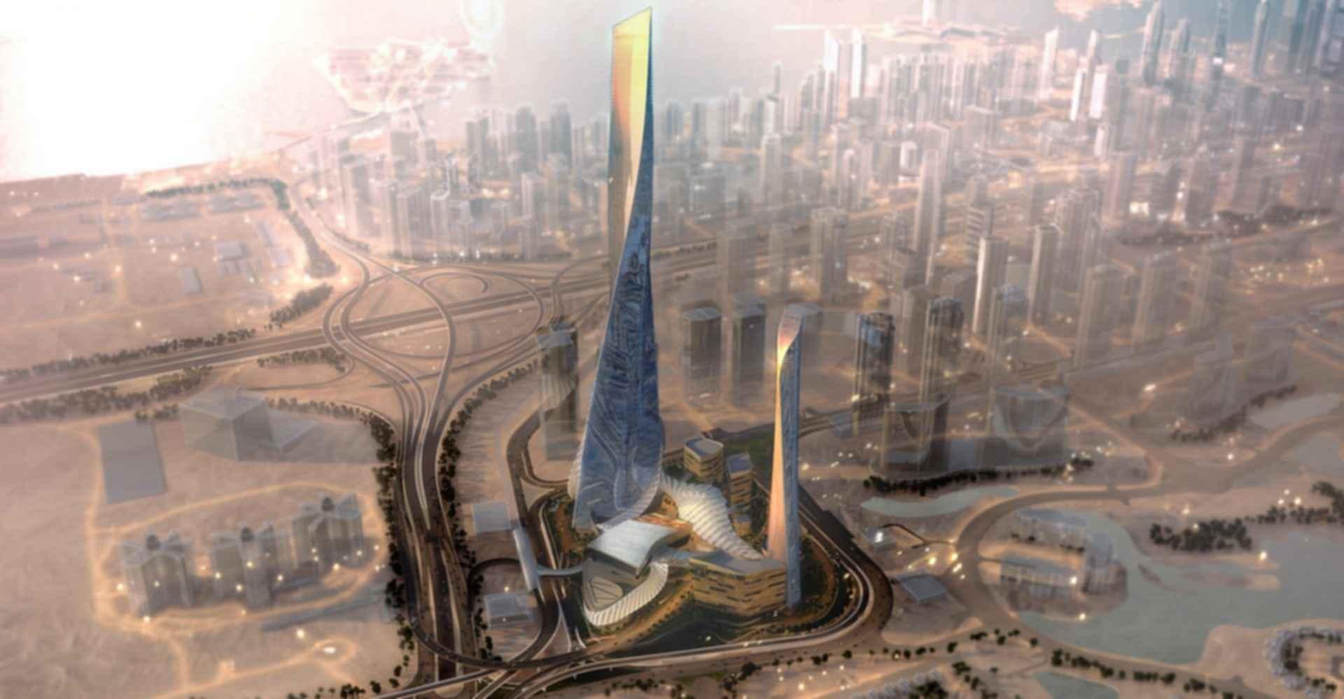 Dubai Square - Bird's Eye View Concept Design