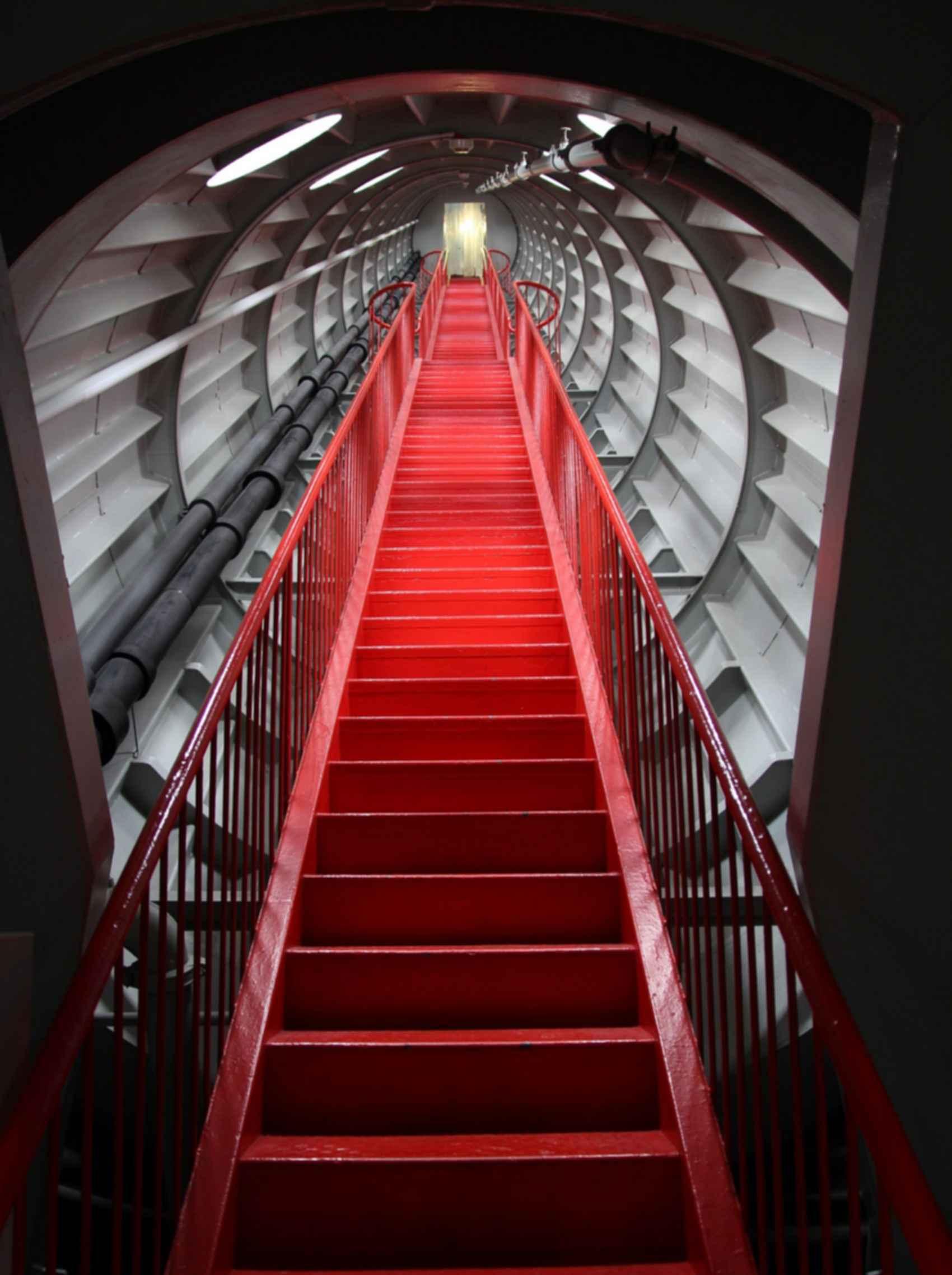 The Atomium - Stairs