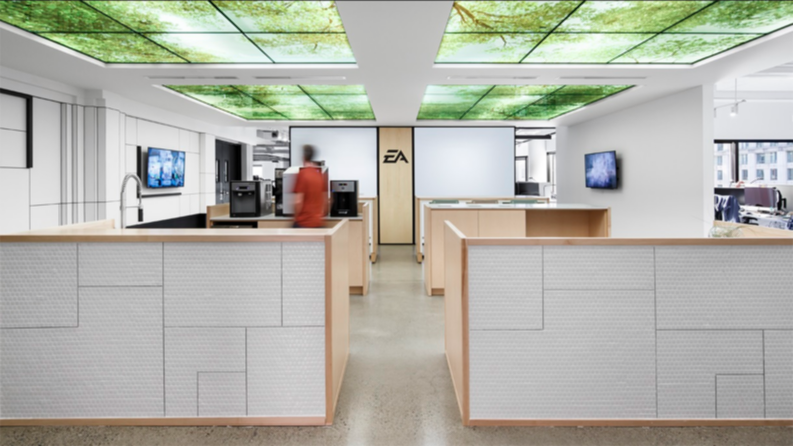 Electronic Arts Offices - Interior