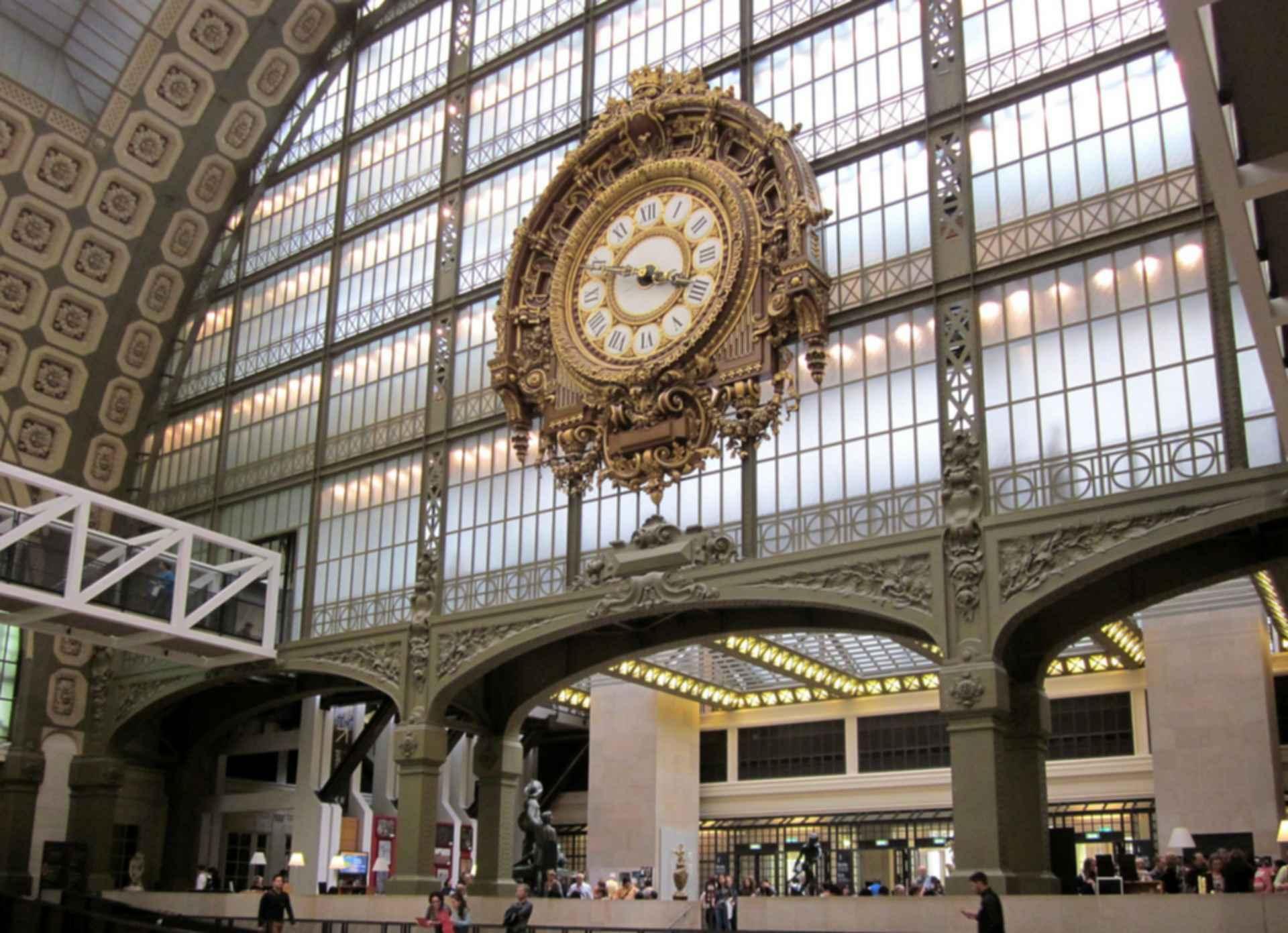 Musee d'Orsay - Clock