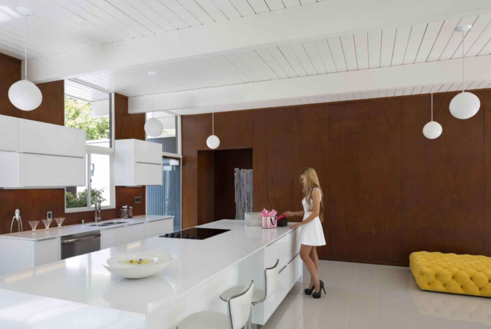 Ross Street Eichler Remodel - Kitchen