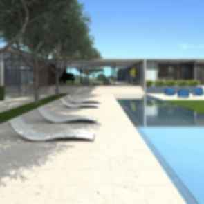 Saratoga Concept Design - Pool Area