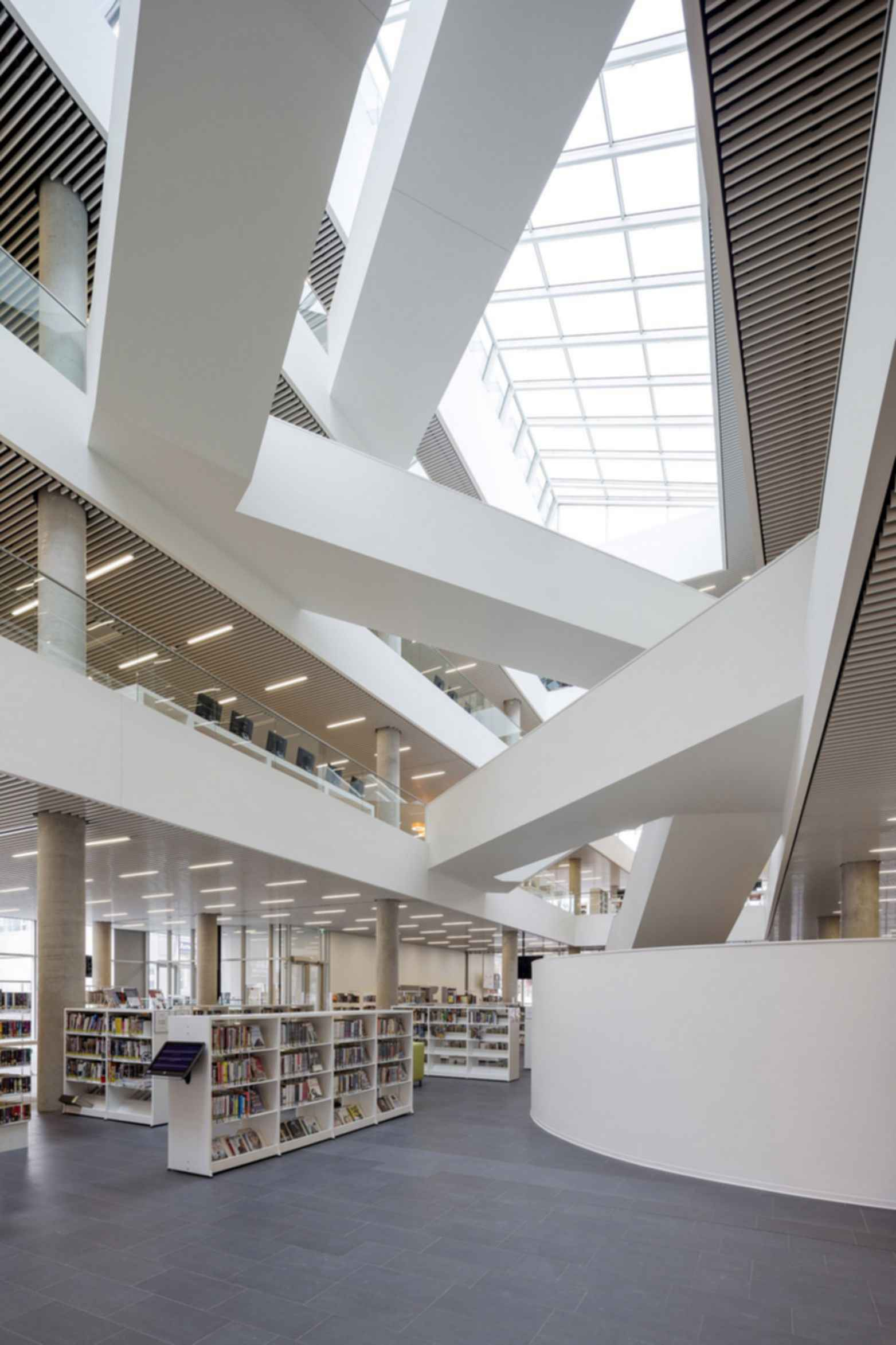 New Halifax Central Library - Interior