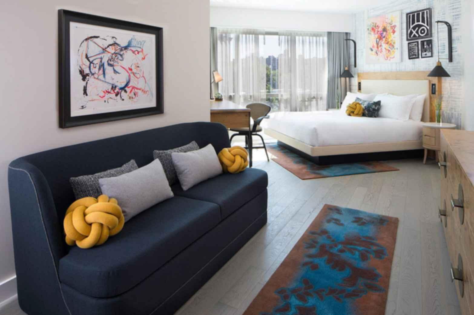 Hotel 50 Bowery - Bedroom