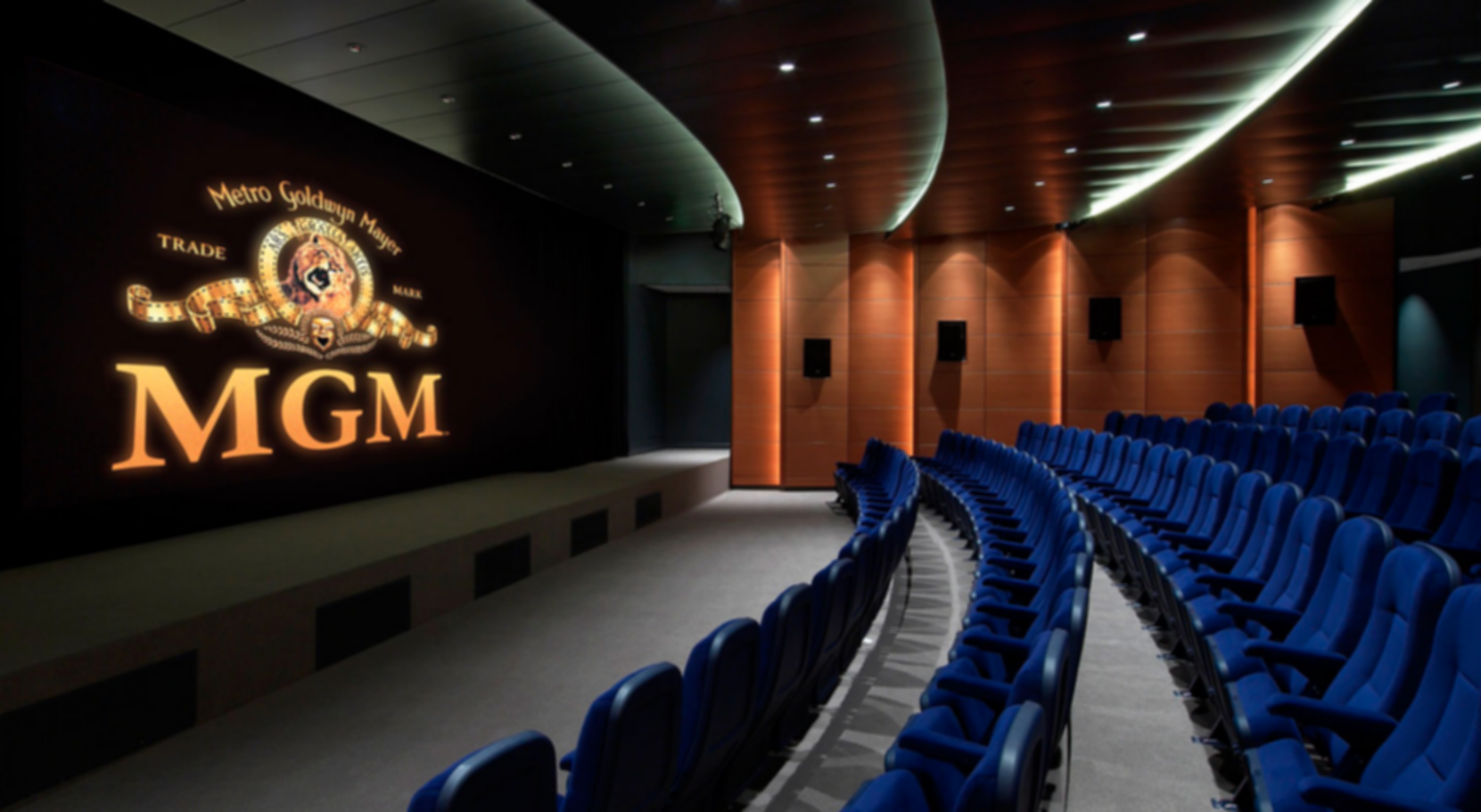 Metro Goldwyn Mayer Office - Screening Room