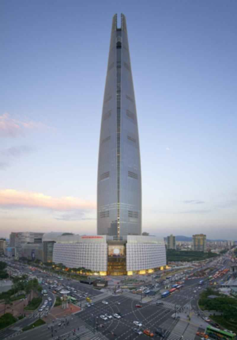 Lotte World Tower - Exterior