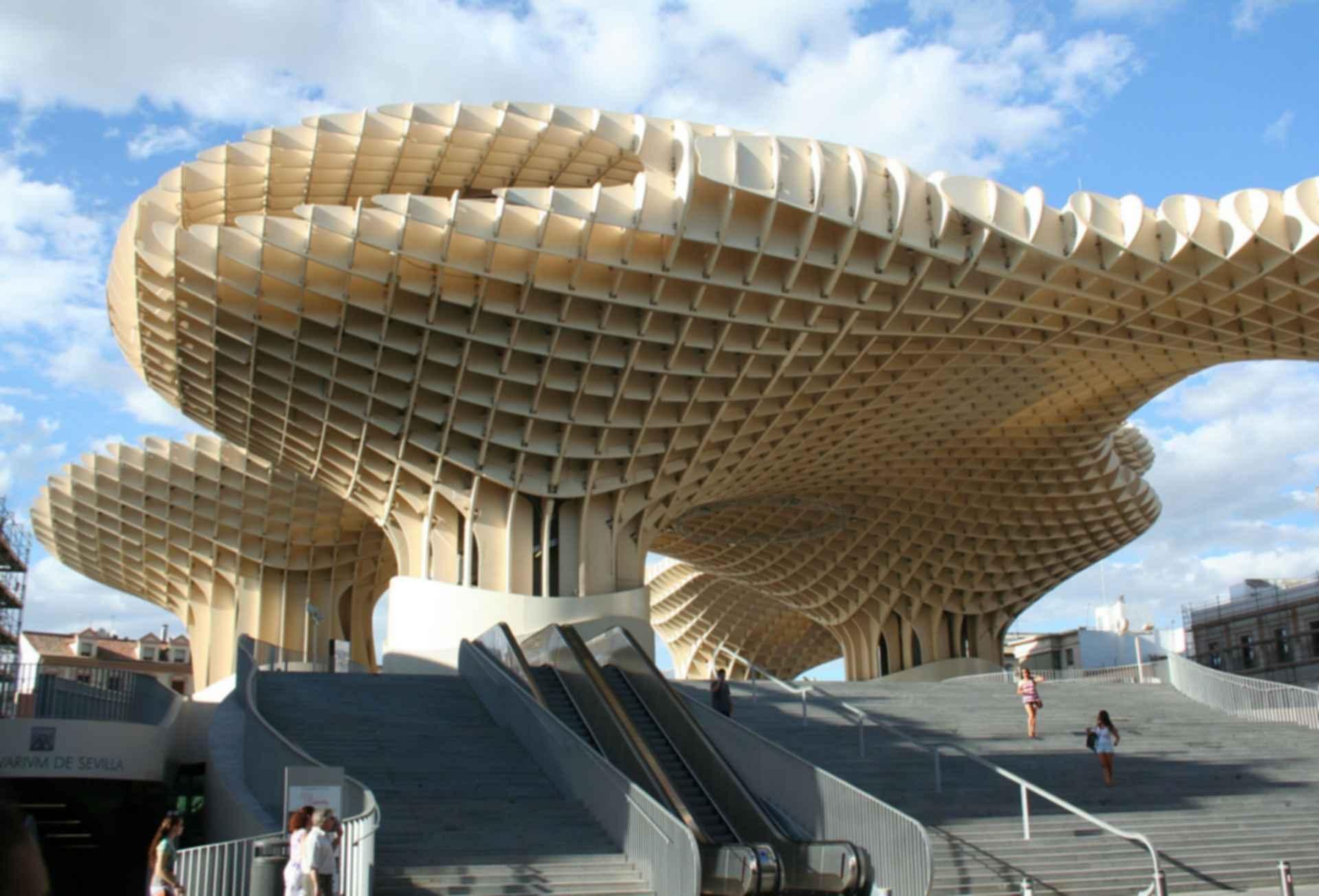 Metropol Parasol - Structure