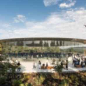 Steve Jobs Theater - Exterior