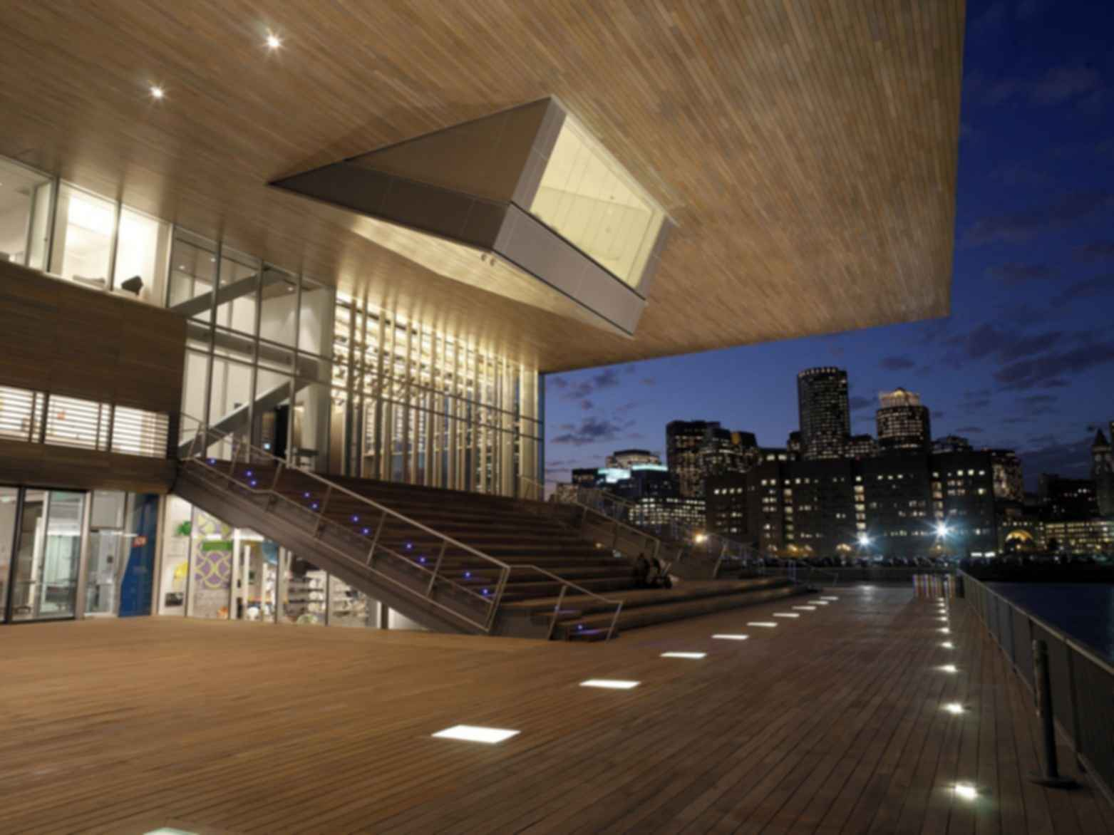 Institute of Contemporary Art, Boston - Exterior/Decking