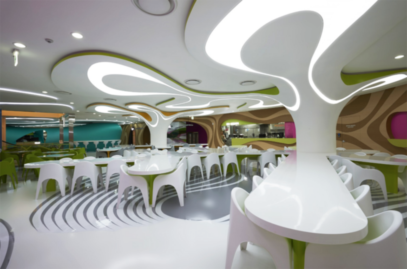 Amoje Food Capital - Interior