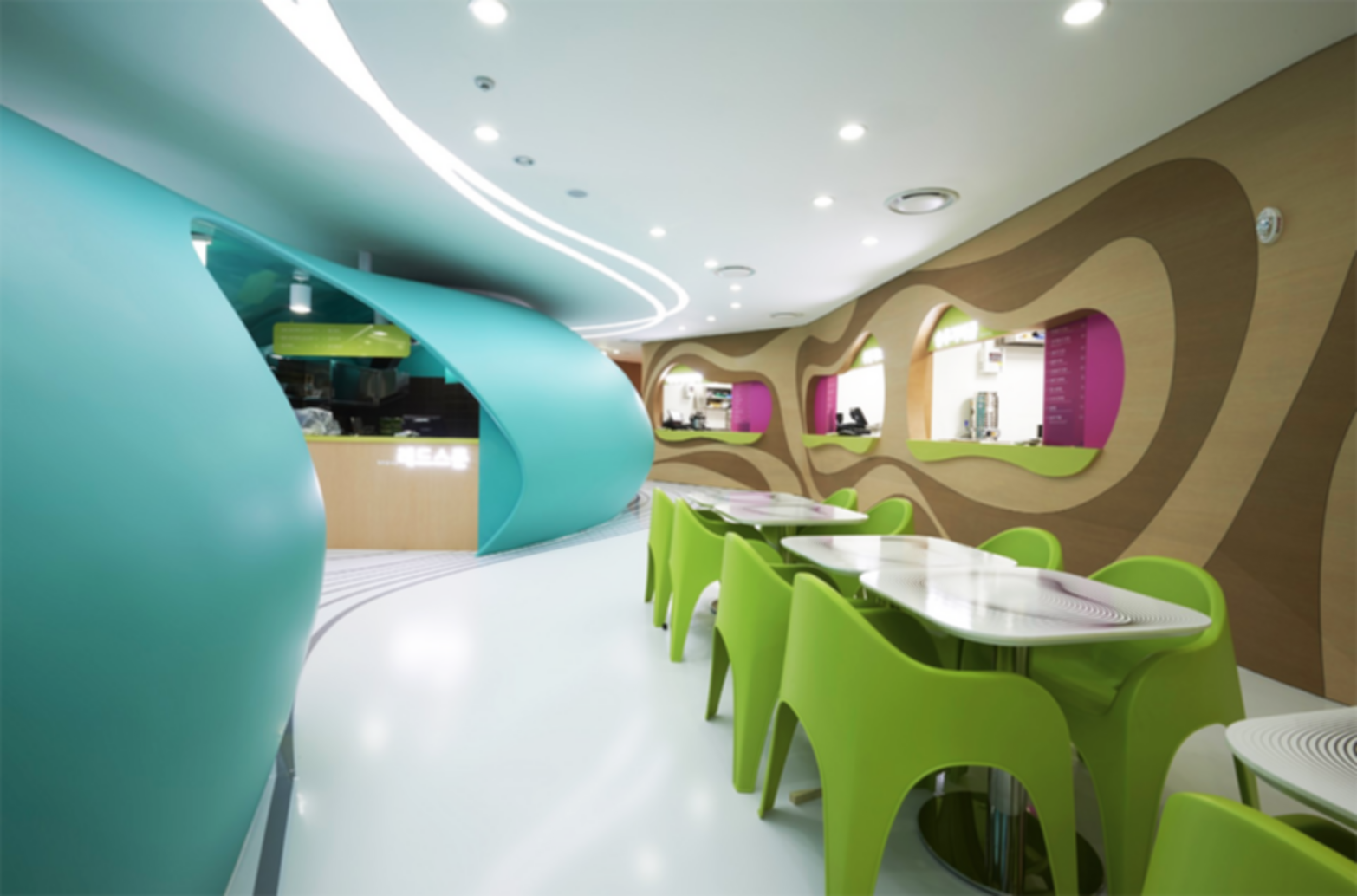 Amoje Food Capital - Interior