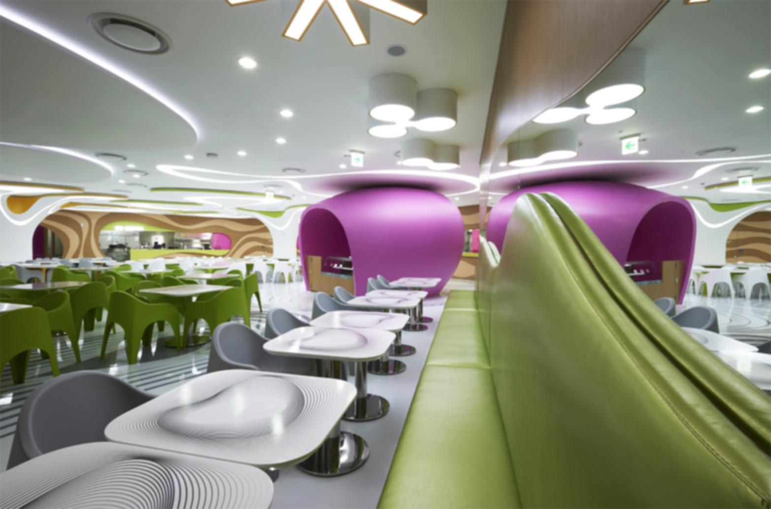 Amoje Food Capital - Seating