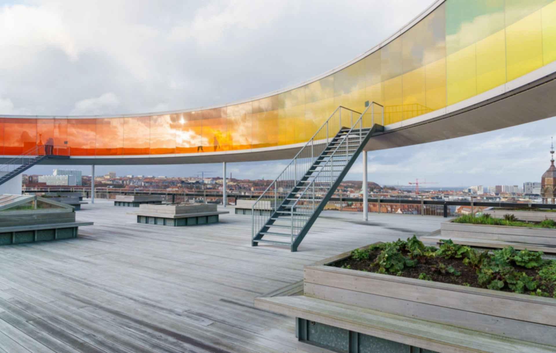 ARoS Aarhus Kunstmuseum - Rooftop Area