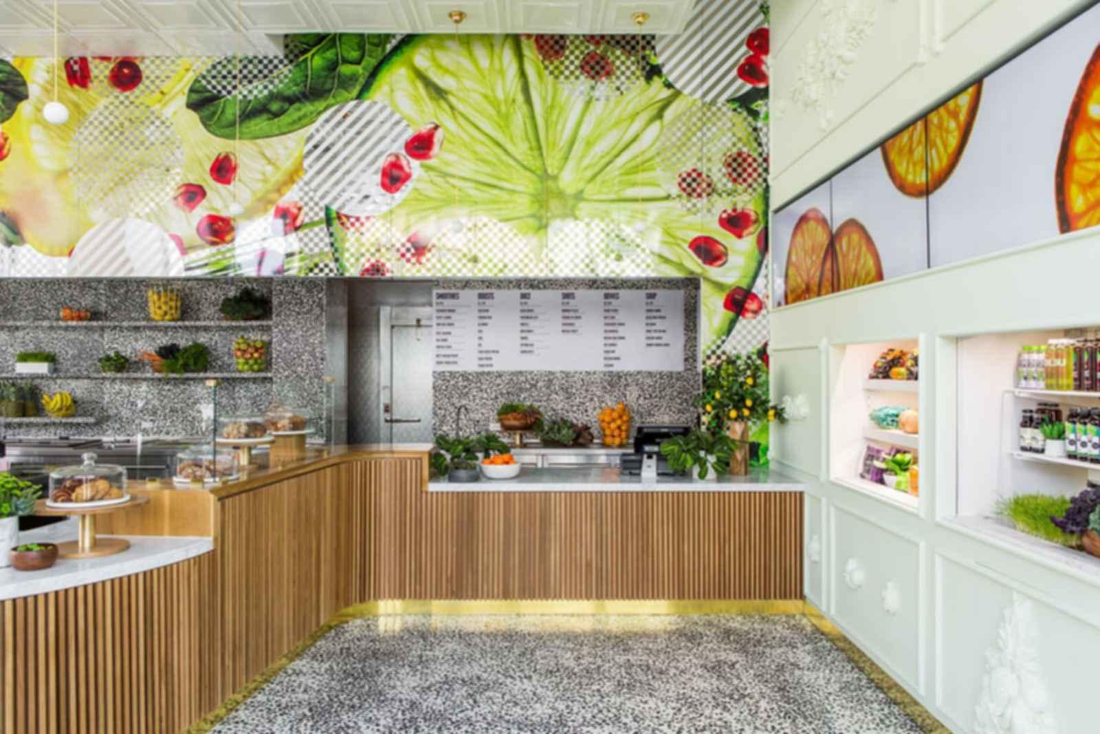 Jamba Juice Innovation Bar - Interior