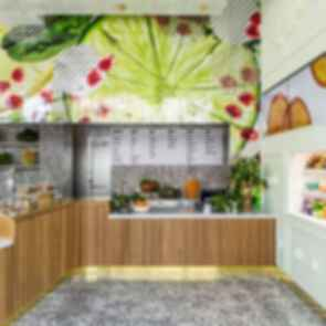 Jamba Juice Innovation Bar - Interior